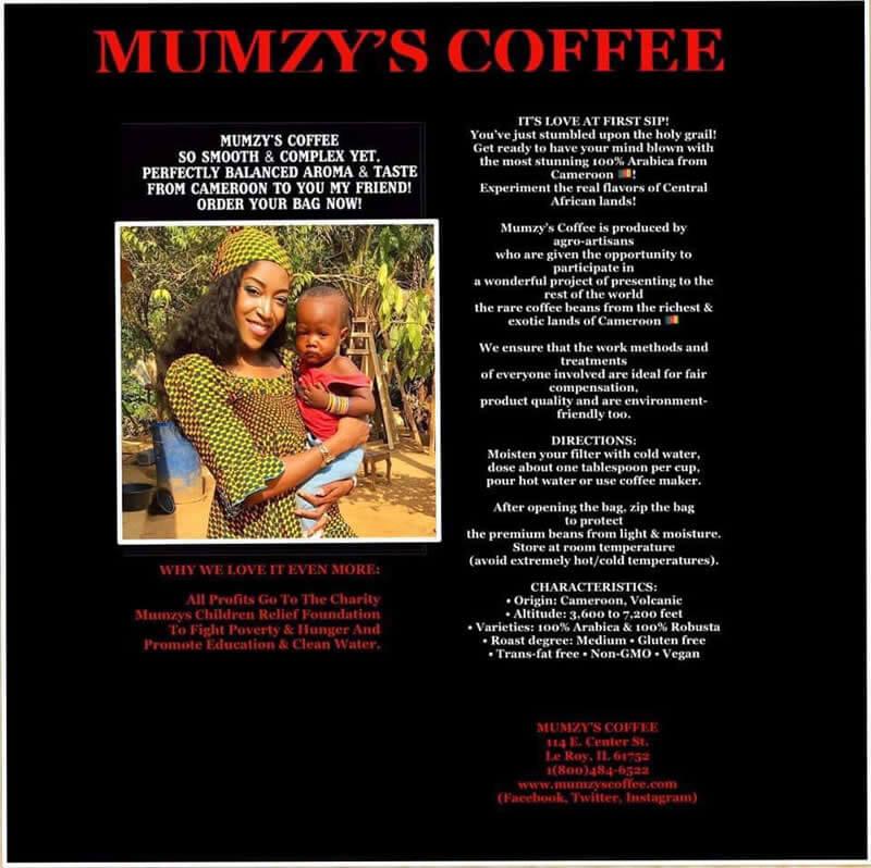 Taste the Mumzy Coffee