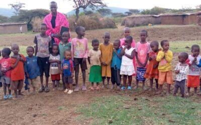 Meeting my first Kenyan Babies ❤️!
