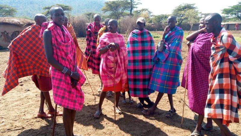 Maasai Tribe Elders, Mumzy in Kenya