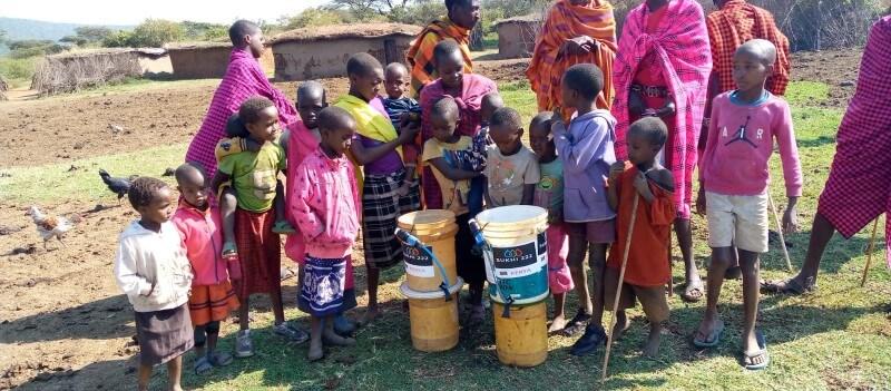 Mumzy in Kenya Maasai Community